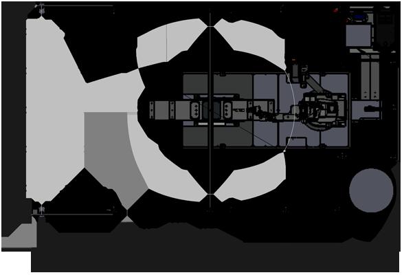 FLEX-FAB XFT Zeichnung